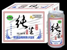 澳利斯啤酒纯生箱装500mlx12