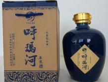 呼玛河精装三斤彩陶坛酒