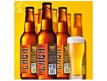 蓝堡原浆啤酒
