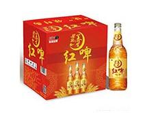 星浪红啤490ml瓶装整箱