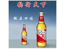 豹行天下啤酒涌动(白瓶)330ml