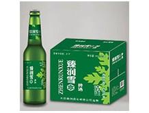 臻润雪啤酒绿瓶500mlx12