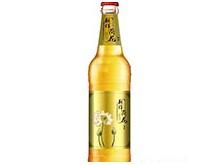 别样荷花啤酒500ml黄标