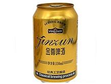 百威雁荡山金尊啤酒330ml