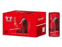 爱京玫瑰养生啤酒330mlX24罐