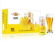爱京菊花啤酒330mlX24罐