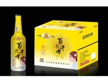 爱京菊花啤酒500mlX12瓶