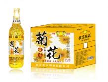 爱京菊花养生啤酒500ml