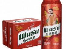 乌苏啤酒 WUSU 红乌苏易拉罐500mL*12罐 整箱装