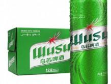 乌苏啤酒 WUSU 绿乌苏易拉罐500ml*12罐 整箱装