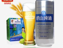 崂山啤酒9度易拉罐500ml*12/听 铁罐崂山整箱装
