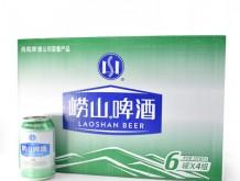 啤酒青岛崂山清爽听装330ml*6*4啤酒
