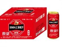 上海淞沪精酿原浆啤酒10°P500ml