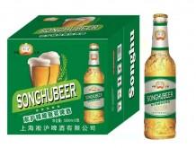 淞沪精酿原浆啤酒500mlx12 (绿)