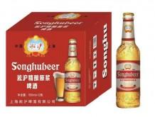 淞沪精酿原浆啤酒500mlx12 (红)
