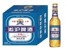 淞沪啤酒瓶装500mlx12(蓝)