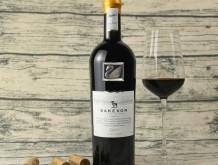 撒克逊银天鹅干红葡萄酒