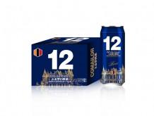 卡麦罗白啤酒500mlx12罐