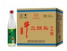 昇世 牛二锅头陈酿酒 42%vol 500mlx12