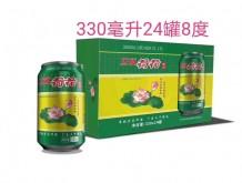 立威荷花啤酒330mlx24罐