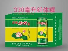 立威荷花啤酒330ml纤体罐