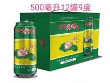 立威荷花啤酒500mlx12罐