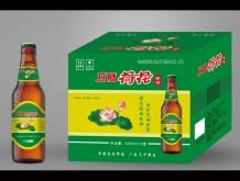 立威荷花啤酒500mlx12瓶