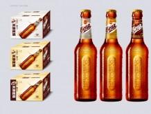 奔驰啤酒330ml玻璃瓶