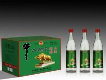 牛二锅头陈酿白酒42%vol 500mlx12