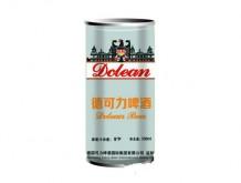 德可力啤酒9度500ml