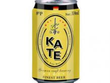 凯特啤酒黄罐330ml