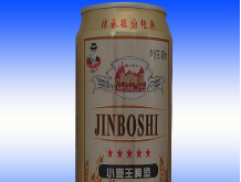 小麦王易拉罐啤酒