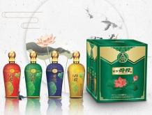 国鼎荷花酒 52° 2L(500ml×4) 浓香型绿豆酒
