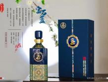 玉酒宝石蓝浓香型白酒 52° 555ml