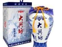 """经典青花瓷瓶""""大兴坊""""原浆老"""