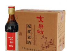 """焦香型""""大兴坊""""原浆老酒"""