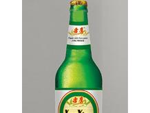 雪鹰啤酒经典白啤(绿