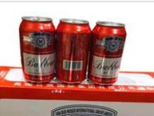 百威啤酒箱装