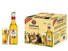 罗尊白瓶精酿啤酒500mlx12瓶/箱
