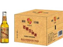 比尔森冬麦生啤酒500mlx12瓶箱装