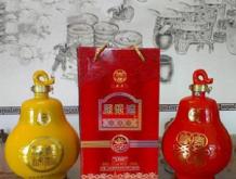 53°芝麻香型宝葫芦原浆酒瓶装
